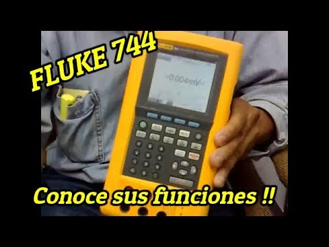 vote no on auto calibration using fluke 744 conociendo el calibrador dpc fluke 744
