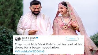 Virat Kohli Anushka Sharma Wedding Fan Reactions