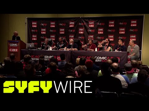 DC Universe Full Panel  C2E2  SYFY WIRE