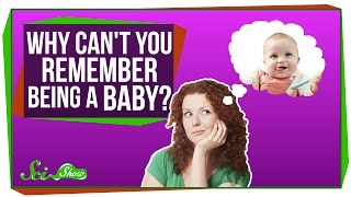 Why Can't You Remember Being a Baby?