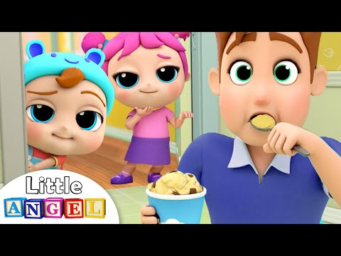Daddy, Mommy, Yes Kids   Johnny Johnny Parents Version   Little Angel Kids Songs