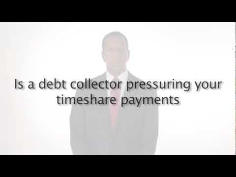 Is a Debt collector pressuring your timeshare payments?