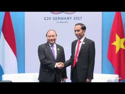 Pertemuan Bilateral Presiden Jokowi dengan Perdana Menteri Republik Vietnam