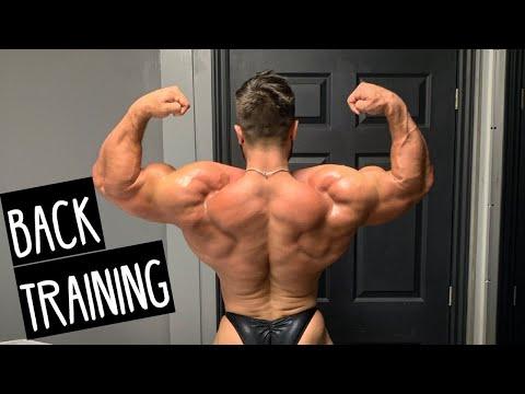 Bodybuilding Back Workout   11 Weeks Out