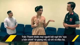 Bị châm biếm, Phi Thanh Vân 'dằn mặt' Trấn Thành