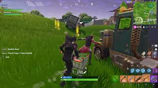 The flying shopping cart