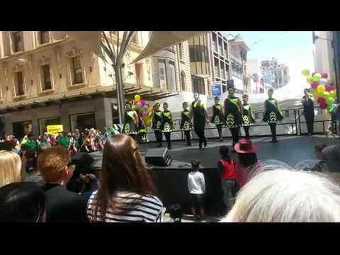 Irish dance on Adelaide multicultural festival