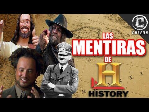 LAS MENTIRAS Y FRAUDES DE HISTORY CHANNEL | Yoshimitsu Cáleon