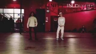taylor hatala kyndall harris kriss kross dez soliven choreography chris brown