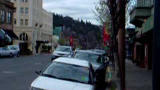 Ashland,Oregon: Downtown area
