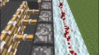 Эксперименты в Minecraft №1