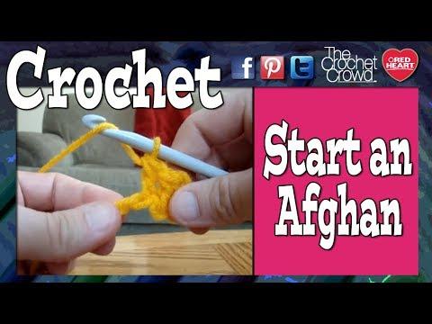 Crochet Starting A Blanket Youtube