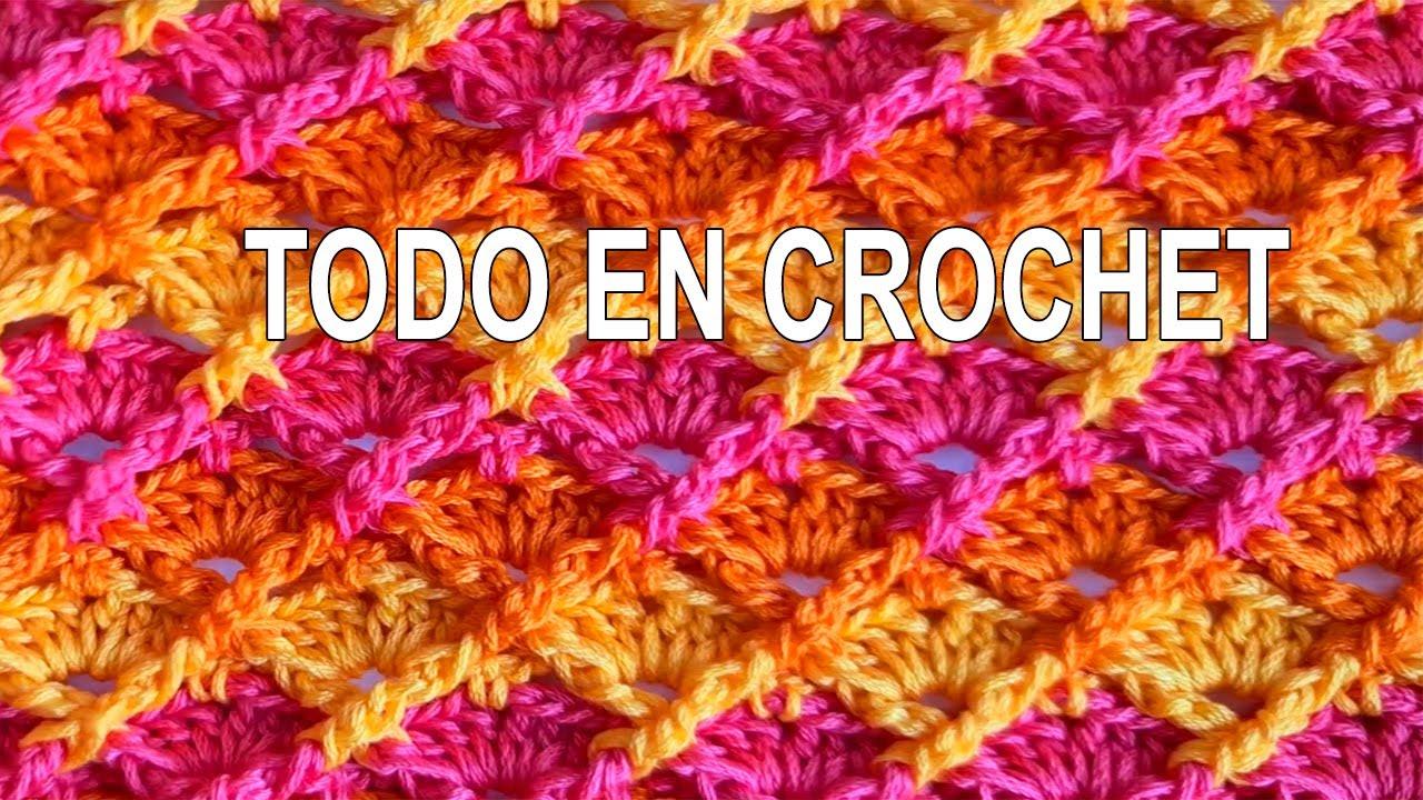 Punto para Cárdigan, Mantas, Bufandas, Gorros a crochet