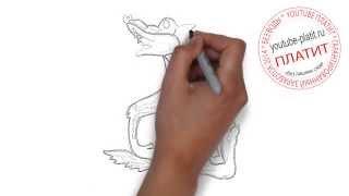 Видео как нарисовать волка  Рисуем красивого волка(Как правильно нарисовать волка карандашом поэтапно. Эти и многие другие моменты Вы сможете узнать из наших..., 2014-08-11T05:08:01.000Z)