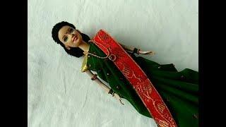 Diy bridal doll/ Diy doll dress/diy doll as Indian bride/ wedding rukhwat
