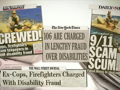 9/11 disability scam: Ex-cops, firefighters accused of false claims