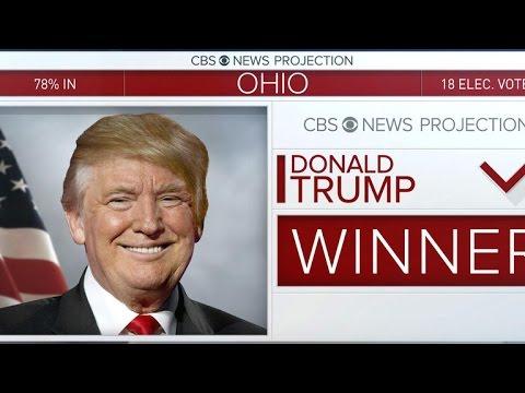 Trump takes key battleground state of Ohio
