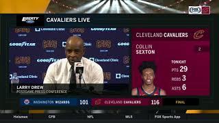 Larry Drew lauds Cleveland