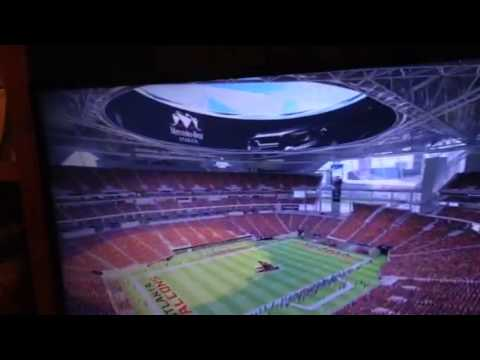 Mercedes-Benz Stadium Atlanta Falcons New Facility Video