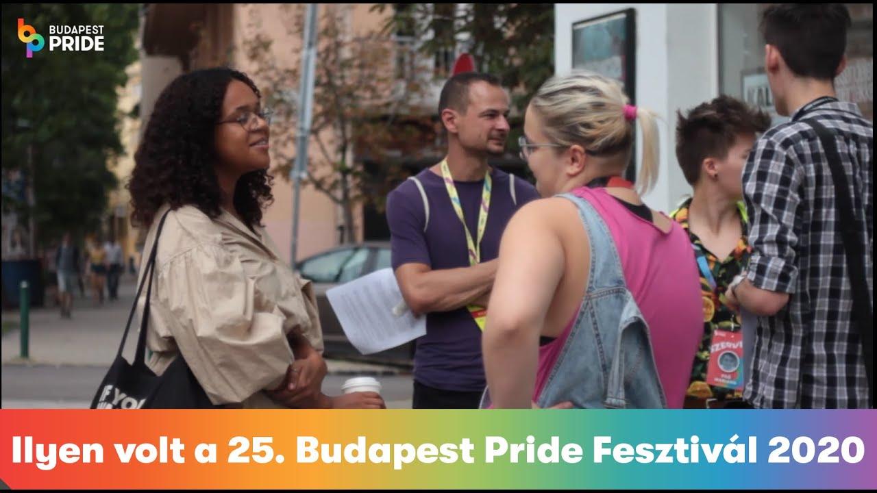 VIDEÓ: Ilyen volt a 25. Budapest Pride Fesztivál