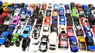 Lot of Metal Toy Cars in one Video For Kids