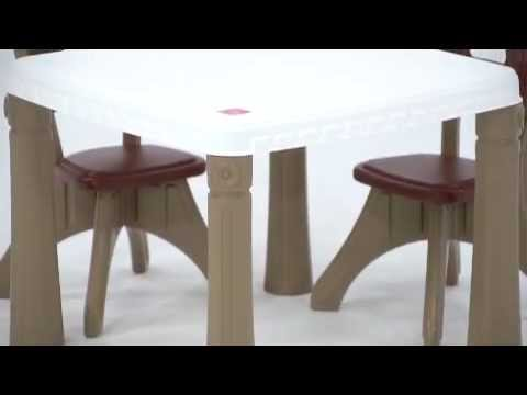 Step2 Lifestyle Kitchen Table Chairs Set