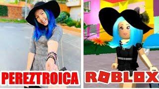 PEREZTROICA VS ROBLOX (imitating celebrities) santi on