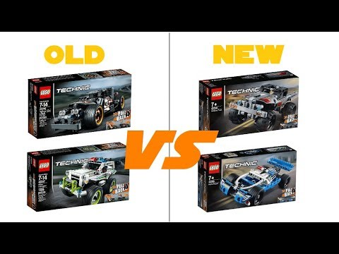 lego technic 2019 42090 42091 pull back cars. Black Bedroom Furniture Sets. Home Design Ideas