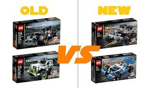 LEGO TECHNIC 2019 - 42090 + 42091  PULL BACK CARS - OFFICIAL HD-PICTURES + COMPARISON