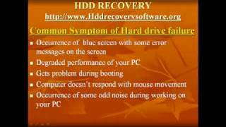 how to recover corrupted hard disk data