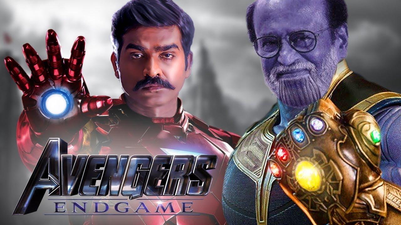 Avengers Endgame By Rajnikanth And Vijay Sethupathi   South Indianised  Trailer   Put Chutney