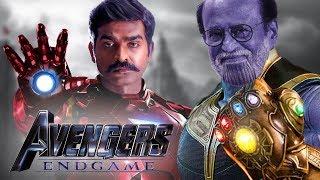 Avengers Endgame By Rajnikanth And Vijay Sethupathi | South Indianised Trailer | Put Chutney