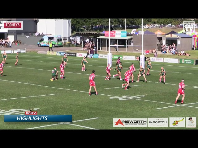 2019 Central Coast RL Reserve Grade Round 17 Highlights Wyong v Kincumber