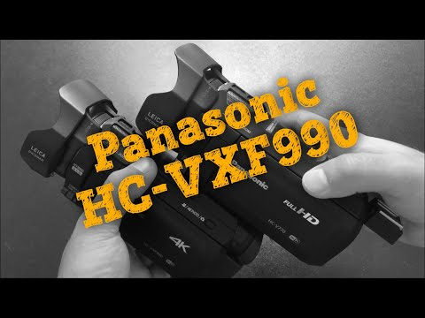 📹 Обзор Panasonic HC-VXF990 - Видеокамера 4K