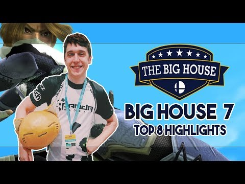 THE BIG HOUSE 7 TOP 8 MELEE HIGHLIGHTS | WHO SAID YOU WERE A GOD I KNOW IT WASN'T PLUP