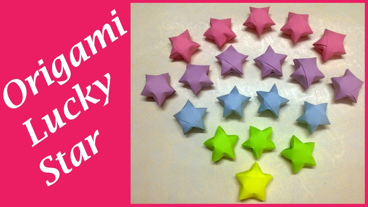 Origmai Lucky star paper 1 by silverbeam.deviantart.com on ... | 720x1280