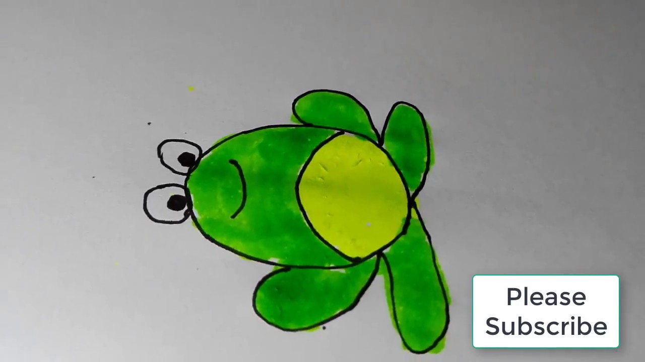 how to draw a frog draw a frog for kids cute frog how to draw a