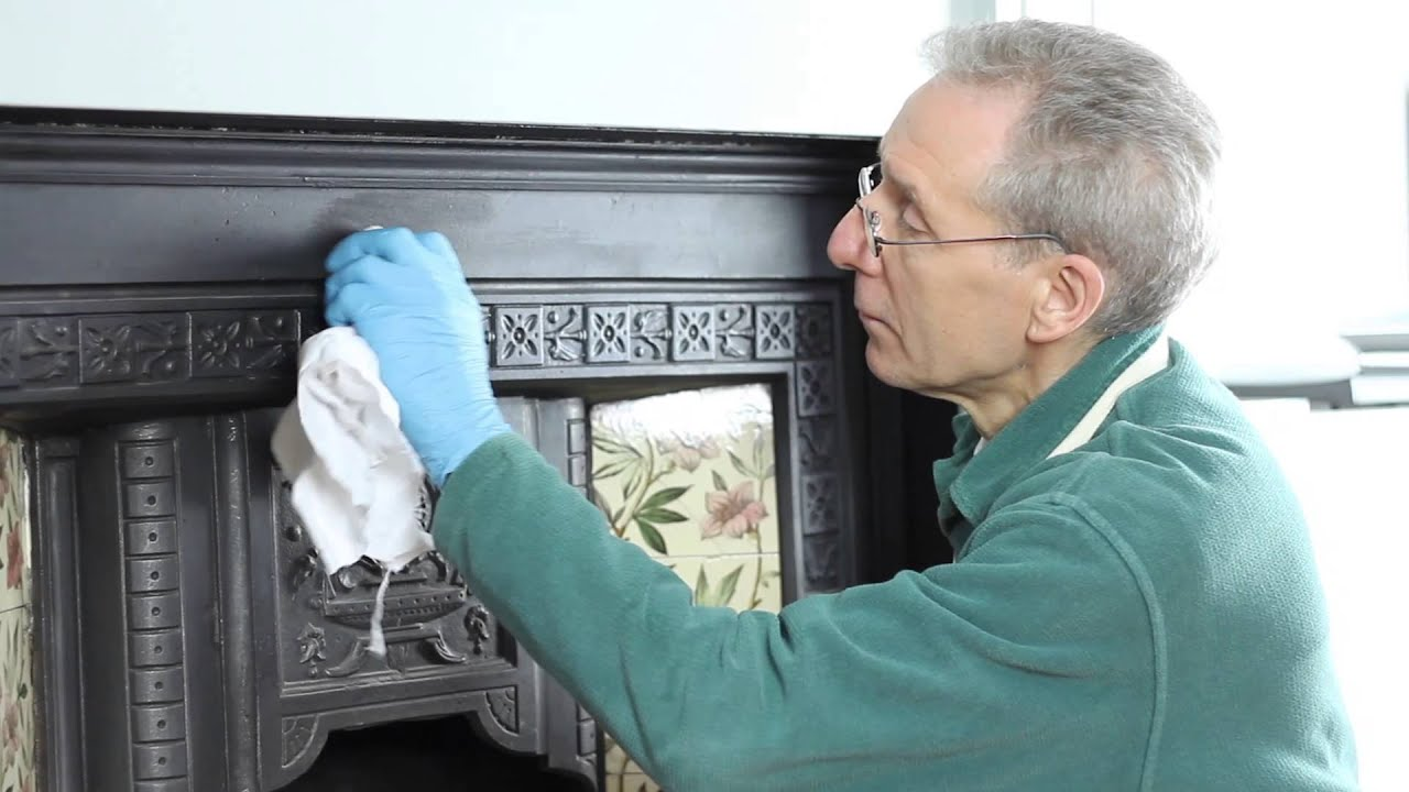 restoring a victorian fireplace with liberon youtube