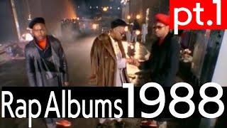 YouTube動画:4 Da Kulcha - 1988 Top 15 Hip Hop Albums pt.1