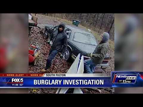 South Fulton burglary investigation