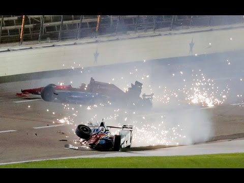 IndyCar 2016 ALL Crashes Compilation