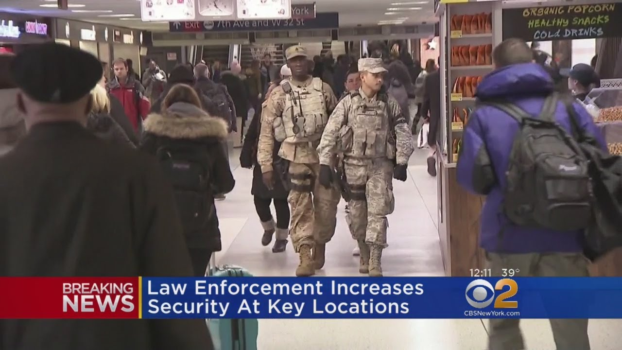 Law Enforcement Steps Up Patrols After NYC Bombing