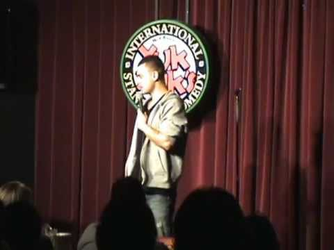 Comedian Reza Peyk @ Yuk Yuks. May 2009. Part 2