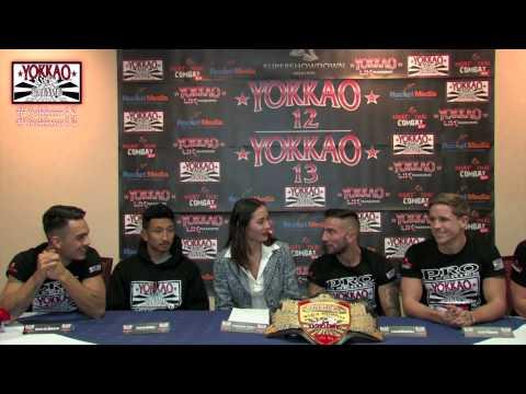 YOKKAO 12 - YOKKAO 13 Weigh-in and Breaking News Press Conference @yokkaoboxing