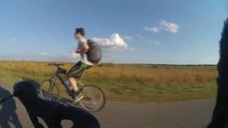 Кросс-кантри веломарафон в 200 км на циклокроссе(Мои первые 200 км на велосипеде. В этом видео вы можете посмотреть как ведет себя циклокросс на пересеченной..., 2016-08-21T21:42:31.000Z)
