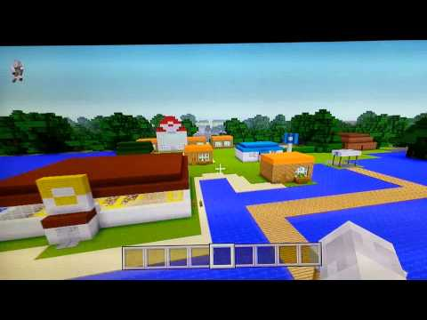 Minecraft Xbox 360 Kanto Region Showcase + Download Link