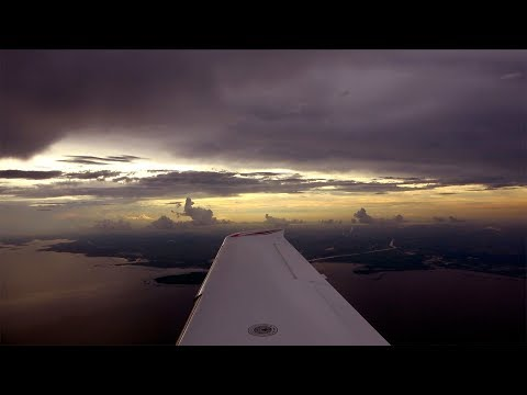 Cirrus SR22 - Super Cross Country - Chicago to Boca - Launch Pads, Tough Weather, Amazing ATC