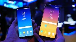 Kesan Pertama Samsung Galaxy S8 dan S8+ Indonesia