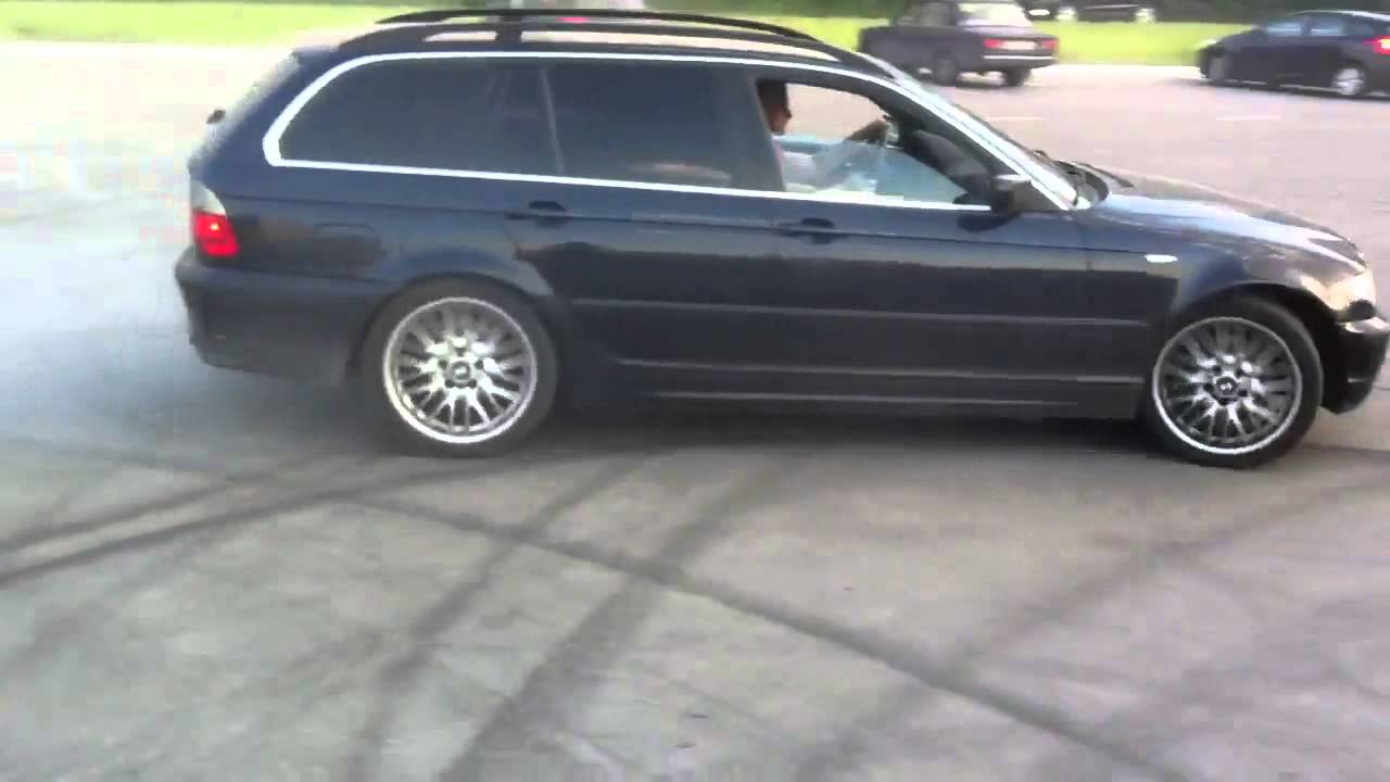 bmw e46 330i touring donuts 3 youtube. Black Bedroom Furniture Sets. Home Design Ideas
