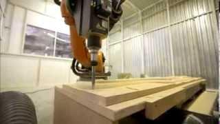 Роботизированный фрезерный комплекс на базе промышленного робота KUKA